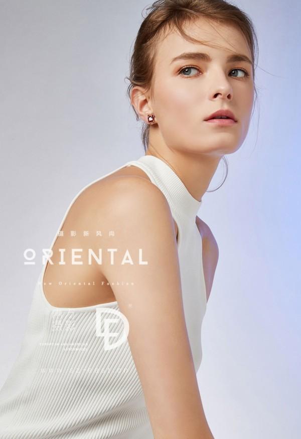 Telimena Stachnik w kampanii Oriental Jewellery