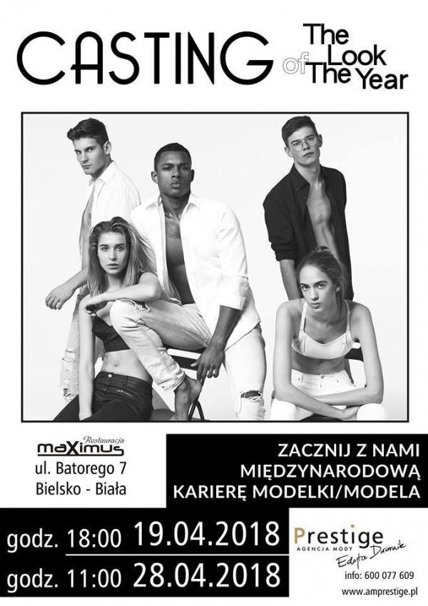 Zapraszamy na kolejne castingi do THE LOOK OF THE YEAR w Bielsku - Białej