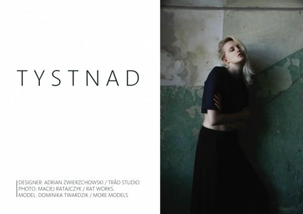 Dominika Twardzik w lookbooku TRÅD Studio