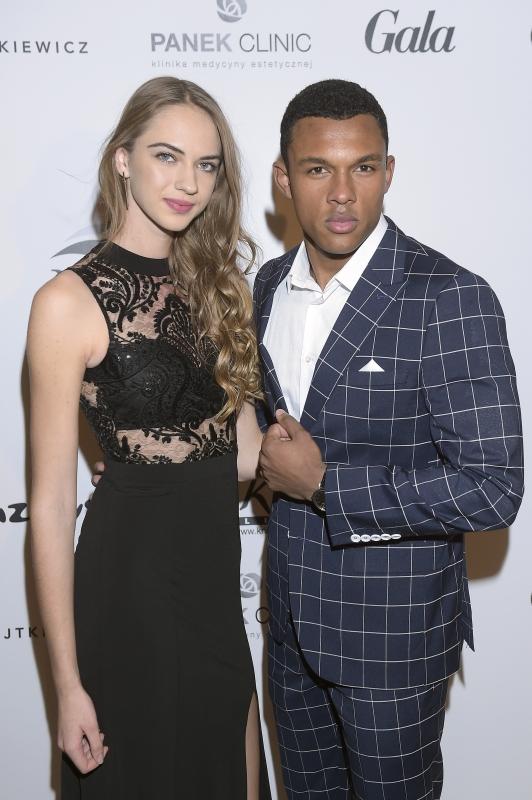 Jola Wilczek i Kamil Bahar na gali Miss Polonia