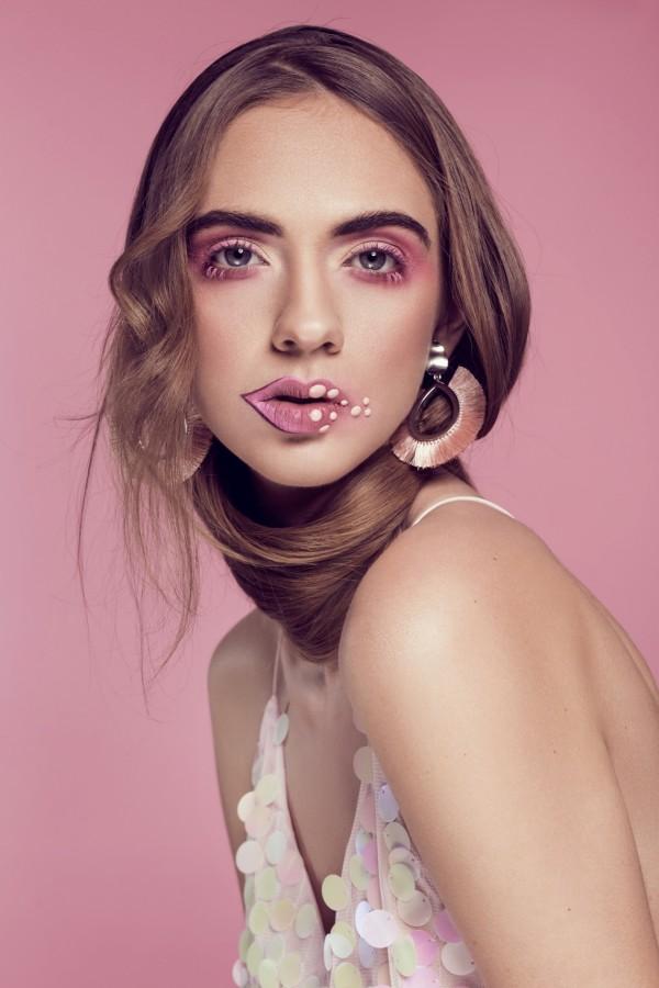 Jola Wilczek w magazynie Make-Up Trendy