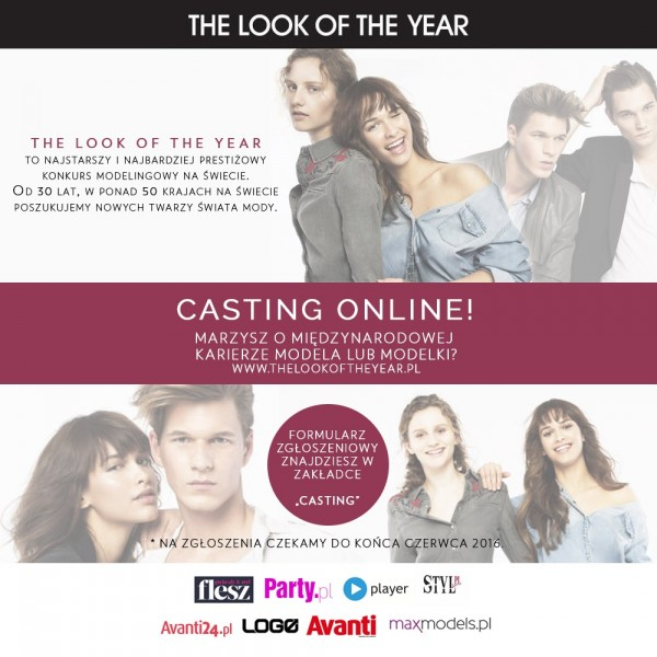 Casting on-line THE LOOK OF THE YEAR 2016