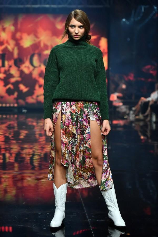 Pokaz marki Le Collet na gali finałowej The Look Of The Year