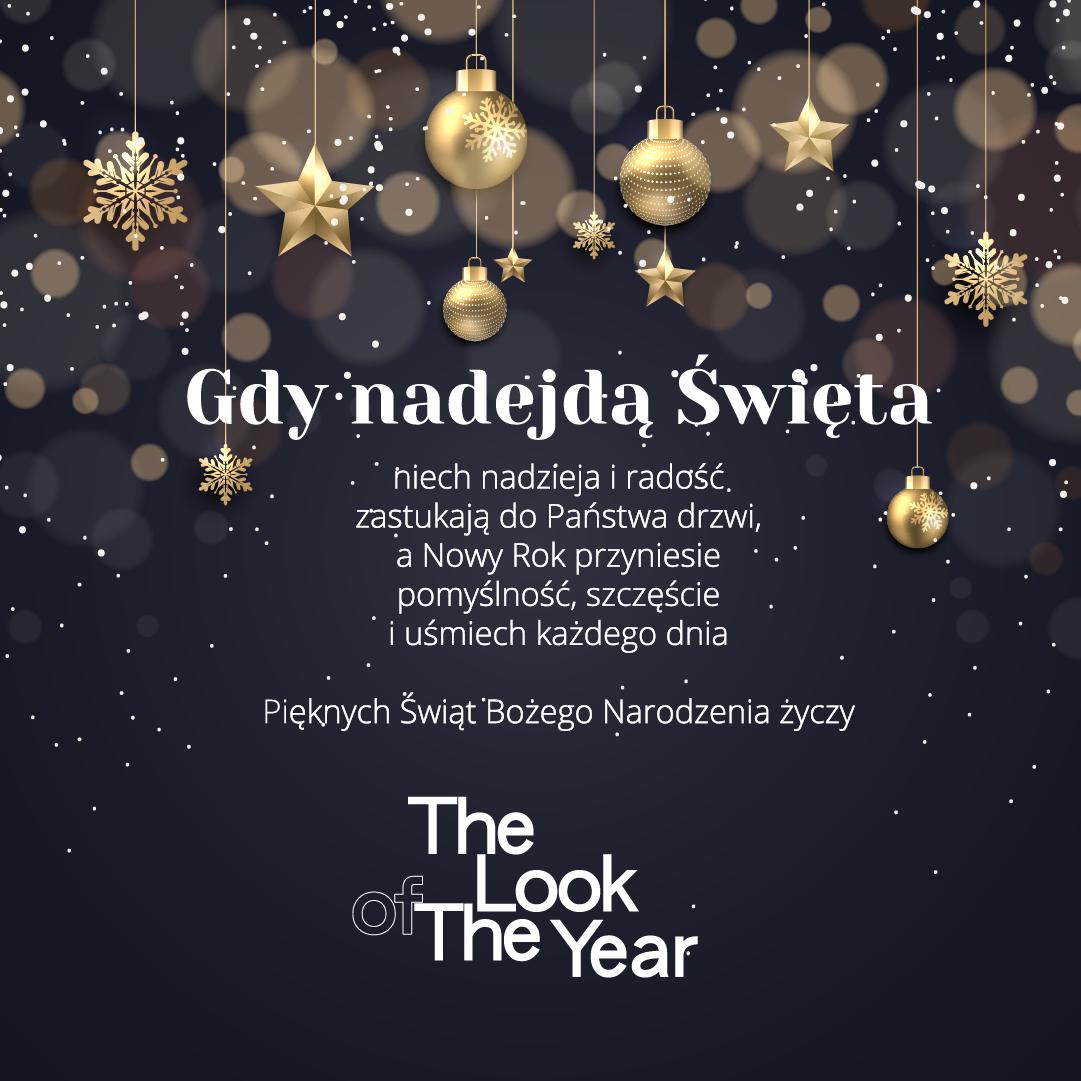 Życzenia świąteczne od The Look Of The Year