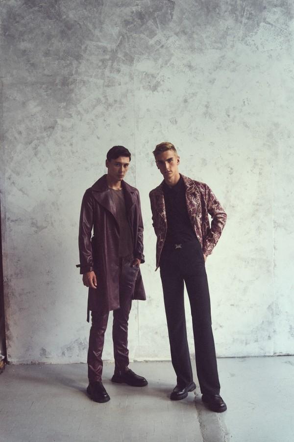 Nasi modele Szymon, Gracjan i Kamil w kampanii Male Me